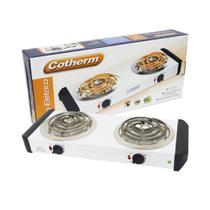 Fogão elétrico 2 bocas 2000W Cotherm-220 V -