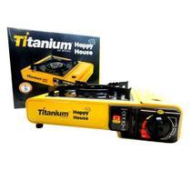 Fogão Portátil A Gás Butano Com Acendimento Automático - Titanium