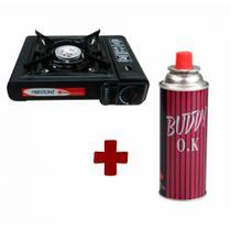 Fogão Portátil Fire Acendimento Autom. + Gás (brinde) - Firestone