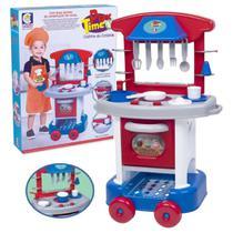 Fogaozinho Cozinha Infantil Master Chef Menino Menina Play Time 66 cm Completo Divertida - Cotiplás