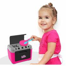 Fogãozinho Infantil com Acessórios - Fogão da Chef - LOL Surprise - Candide -