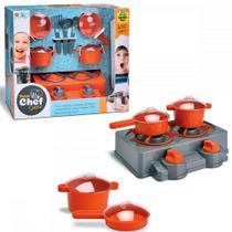 Fogãozinho Petit Chef Show Cozinha Acessórios - Samba Toys -
