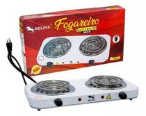 Fogareiro Elétrico Portátil 2 Bocas 2000W -Relinx -