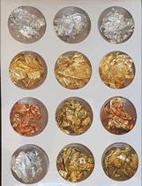 Folha de Ouro - Nails Kit