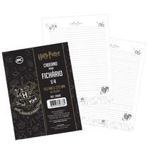Folha Para Fichário Harry Potter Mini 1/4 96 Folhas - Dac