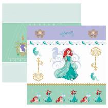 Folha para Scrapbook Dupla Face Disney Toke e Crie Ariel 1 Cenário e Bandeirolas - 19567 - SDFD82 -