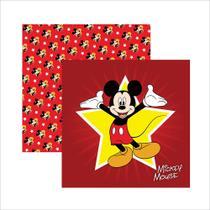 Folha para Scrapbook Dupla Face Disney Toke e Crie Mickey Mouse 1 Guirlanda - 19305 - SDFD011 -
