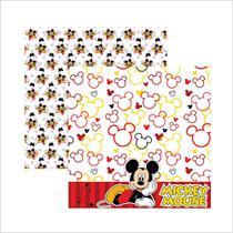 Folha para Scrapbook Dupla Face Disney Toke e Crie Mickey Mouse 2 Paisagem - 19311 - SDFD017 -