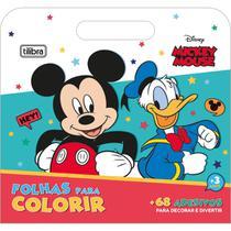 Folhas de Atividades Maleta Mickey 8 Folhas -