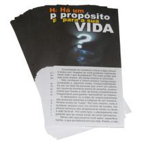 Folhetos Evangélicos para Evangelismo 1.000 unidades - Cpad