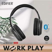 Fone Bluetooth 5.1 EDIFIER W800BT Plus - Preto - versão atualizada 2021 -