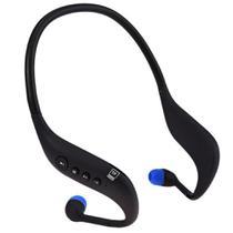 Fone Bluetooth Sem Fio Corrida Esporte Rádio Fm Boas Lc-702s -