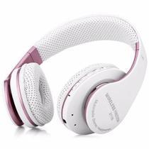 Fone Bluetooth Stereo Headset Áudio Com Microfone B Max BM-211bt - Branco -