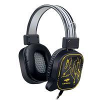 Fone com Microfone Gamer USB CRANE PH-G320BK C3Tech -