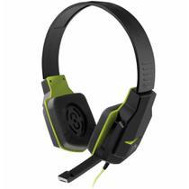 Fone com microfone gamer verde ph146*** / un / multilaser -