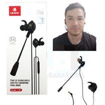 Fone com Microfone Headset Profissional L26 - Genai