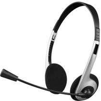 Fone de Ouvido 3,5mm c/ microfone - C3 Tech - Prata - PH-01SI -