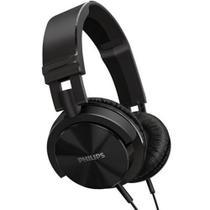 Fone de Ouvido - 3,5mm - Philips DJ  Headphones - Preto - SHL3000/00 -
