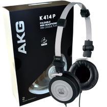 Fone de Ouvido AKG K414 Profissional Retorno Monitor -