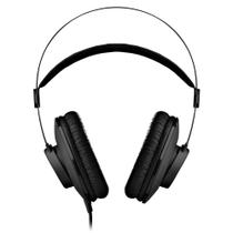 Fone de ouvido AKG K52 - Headphone Monitor Profissional Preto -