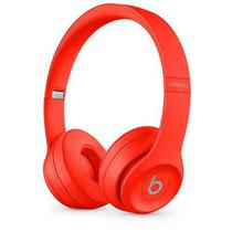Fone de Ouvido Beats Solo3 Wireless Headphone Vermelho Citríco - MX472LL/A - Apple