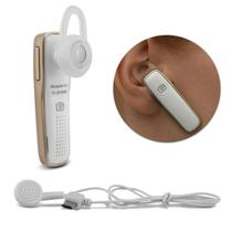Fone de Ouvido Bluetooth 4.1 Smartphone Notebook Desktop MP3 Player Intra-Auricular Branco In Ear - Prime