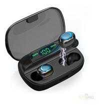 Fone De Ouvido Bluetooth 5.0 Com Power Bank 2000mah Mtf-8807 - Tomate