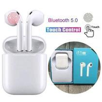 fone de ouvido bluetooth 5.0 sem fio recarregável microfone - Tws