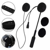 Fone De Ouvido Bluetooth Capacete Moto Viva Voz Sem Fio Bt8 - Hamy