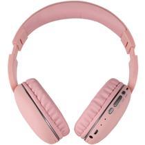Fone de ouvido bluetooth entrada cartão micro-sd tfh600bt rosa - Telefunken