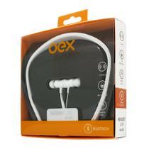 Fone De Ouvido Bluetooth Esportivo Branco Oex Hs302 - Csl Import