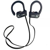 Fone De Ouvido Bluetooth Esportivo S/Fio Knup Preto -