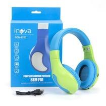 Fone de ouvido bluetooth Fitness stereo INOVA- FON6703 -