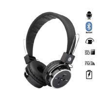 Fone de Ouvido Bluetooth Micro SD FM Dobravel com Microfone - Wireless B-05