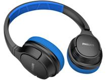 Fone de Ouvido Bluetooth Philips Série 4000 - TASH402BL/00 Esportivo com Microfone Preto e Azul -