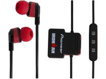 Fone de Ouvido Bluetooth Pioneer Ironman  - SE-IM5BT-R Esportivo Resistente à Água Vermelho