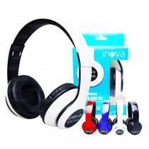 Fone de ouvido bluetooth stereo inova-fon8158 -