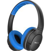 Fone de Ouvido Bluetooth TASH402BL/00 Azul/Preto PHILIPS -