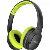 Fone de Ouvido Bluetooth TASH402LF/00 Verde/Preto PHILIPS -