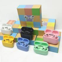 Fone De Ouvido Bluetooth Tws Airs Pro Colors Rosa -