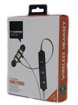 Fone de Ouvido Bluetooth Universal Intra auricular com Microfone - Sports
