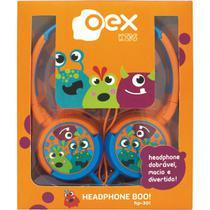 Fone de ouvido boo infantil 15w cabo 1,2m unidade - NEWEX