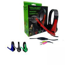 Fone de ouvido c/ microfone headset gamer f-6 tecdrive -