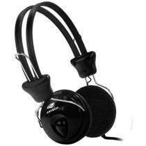 Fone de Ouvido C3 Tech Tricerix PH-80BK - com Microfone e Controle de Volume - Conector P2 -