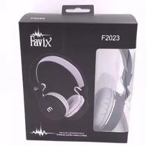 Fone de Ouvido com fio Favix-F 2023 c/ microfone -