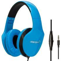 Fone de Ouvido com Fio P2 Estéreo Concha Azul Targus -
