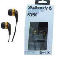 Fone de Ouvido com Fio Skullcandy Original 50/50 Microfone Controle Volume -