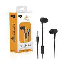 Fone de Ouvido Com Microfone DL CitySound M1, Intra-  auricular, Estéreo, Plug P2, Preto -