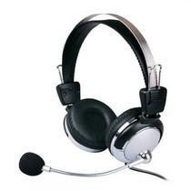 Fone De Ouvido Com Microfone E Ajuste De Volume - Weile Wl-301mv - 105db - Para Lan House - China