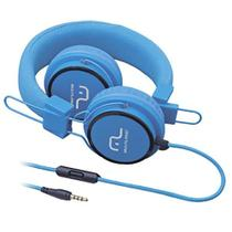 Fone de Ouvido com Microfone Headphone Fun PS2 Azul PH089 Multilaser